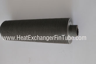 Tension wound type L- knurled(KL) aluminum fin Cooling tube, OD1''X14bwg